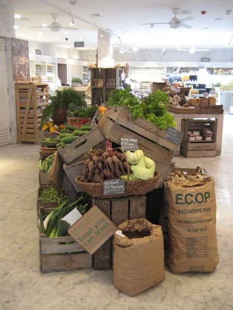 latest post from the atlantic: an organic lunch in london