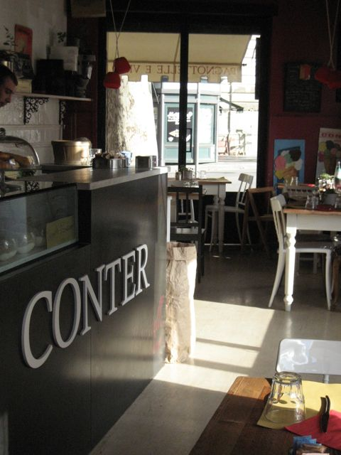 conter: a new sunny and cozy restaurant in rome