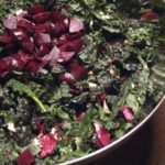 christmas cavolo nero salad