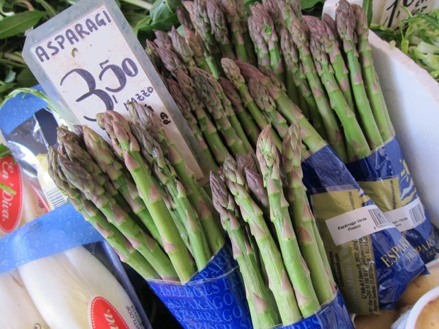 asparagus: is it spring yet? guest post by paula butturini