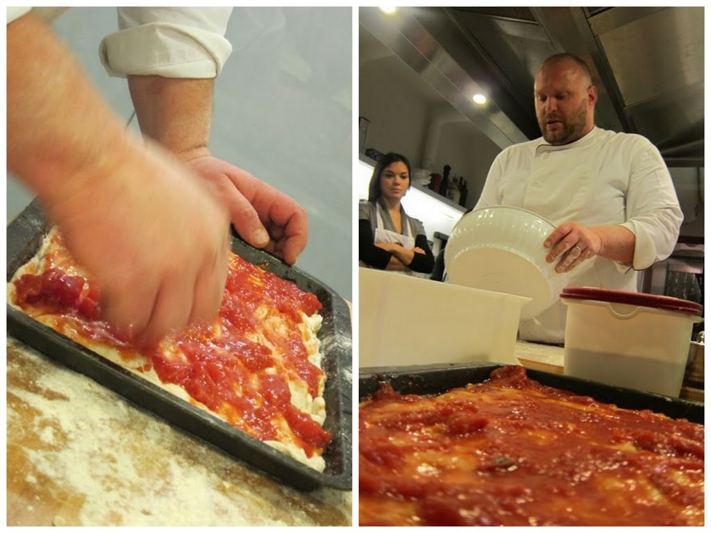 making pizza dough with gabriele bonci