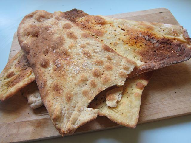 pizza failure = roman crackers