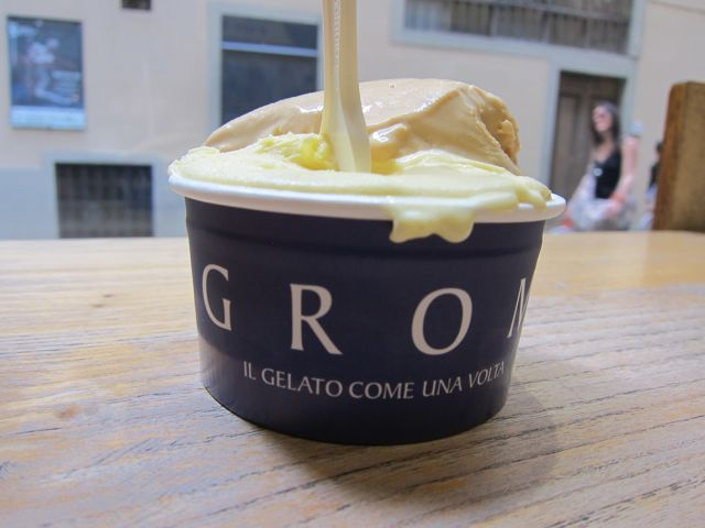Gelato in Florence Grom