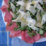 pastrami {or any cured meat} salad
