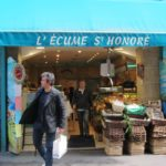 eating oysters in paris: l'ecume st-honore'