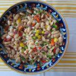 haricots tarbais : bean salad
