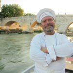 dining with salvatore denaro by the tiber