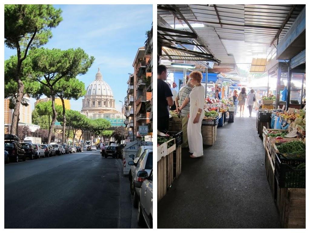 mercato via gregorio vii elizabeth minchilli in rome