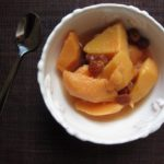 quinces {poached}