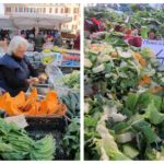 campo de' fiori market {vegetables + video}