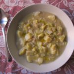 {lazy} cabbage & potato soup