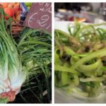 puntarelle {cleaning, eating + video}