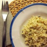 risotto {cheese + vermouth}