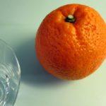 orange ginger {cocktail}
