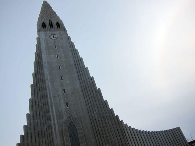 hallgrimskirkja  {cathedral in reykjavik}