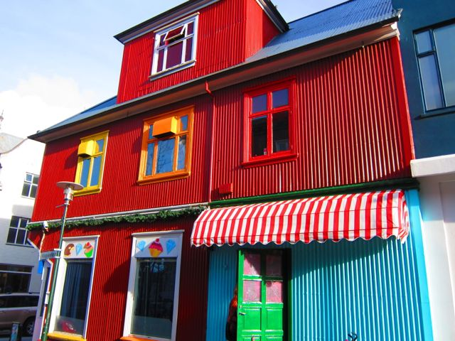 colored houses {reykjavik}
