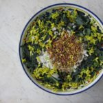 spring salad of tuscan kale {cavolo nero}