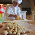 making pasta at palazzo margherita {basilicata}