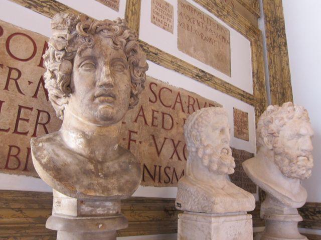 palazzo nuovo {sculpture in rome}
