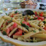 purslane + tomatoes {pasta}