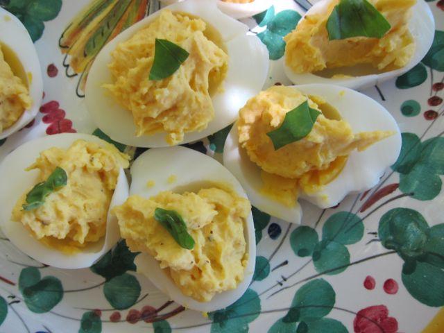 deviled eggs {summer dinner}