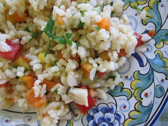 insalata di riso {rice salad}