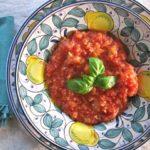 pappa al pomodoro {bread + tomato soup}