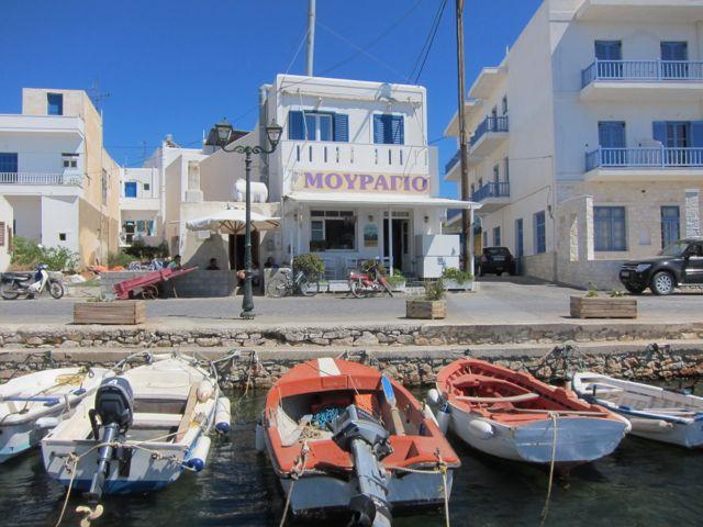 eating fish in greece {paros}
