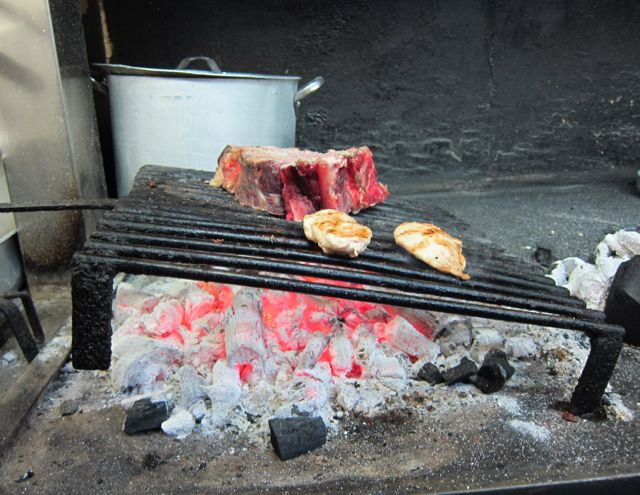 eating meat in florence {bistecca, etc}