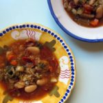 minestrone {paprika + dried tomatoes}