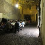 eating in the street in monti {rome}