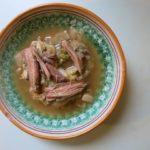 castradina {venetian meat soup}