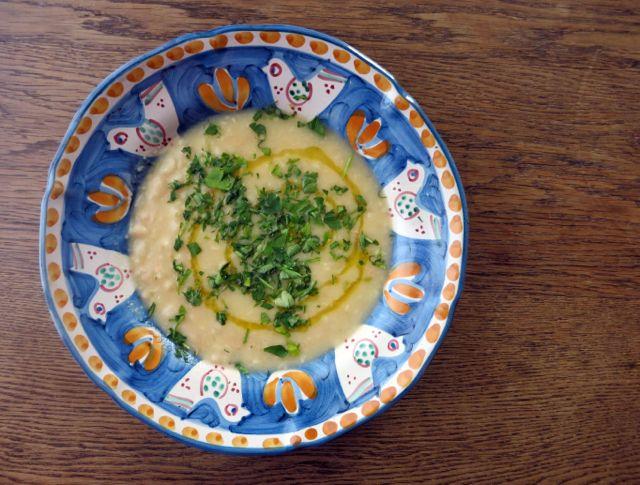 Garlicky Bean Soup Fagiolo di Sorana
