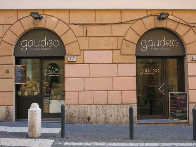 Gaudeo - Panini in Rome