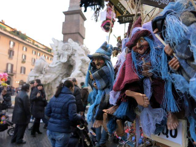 Befana, Epiphany, Piazza Navona, Rome