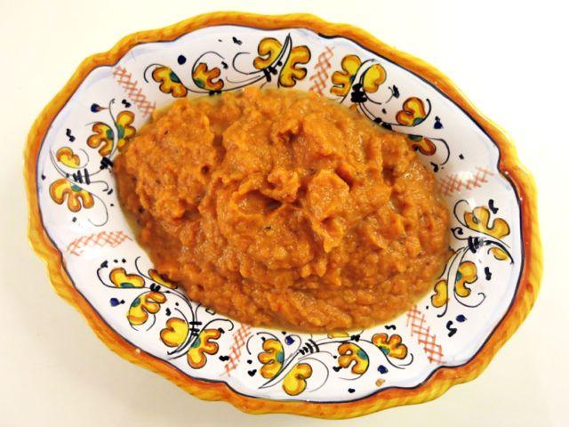 pumpkin {mashed}