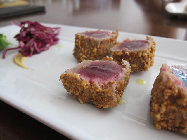 Tuna with hazlenuts - l'Anice Stellato, Venice
