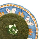 indian swiss chard + lentil {soup}