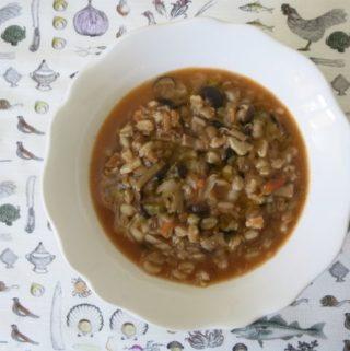 grains + beans {soup}