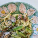 vongole + lemons + zucchini {pasta}