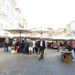 campo de' fiori market {rome}