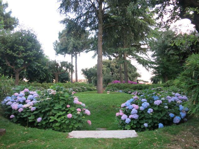 hidden garden {rome}