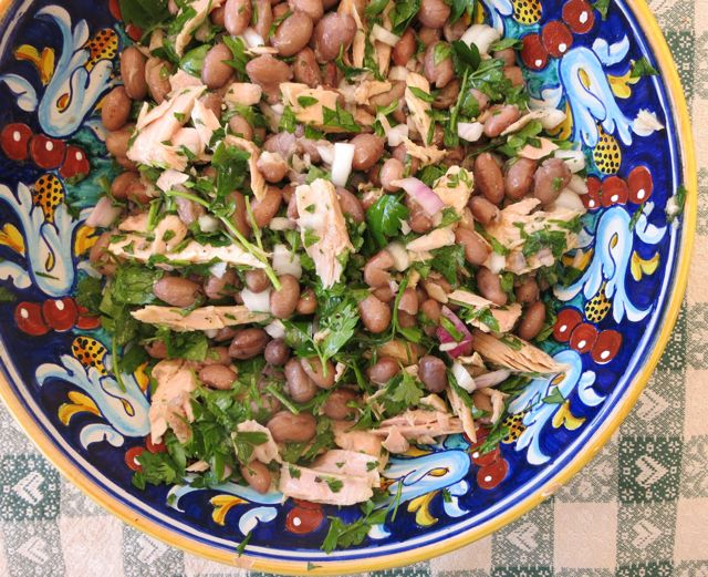 Tuna and Bean Salad www.elizabethminchilliinrome.com - 5