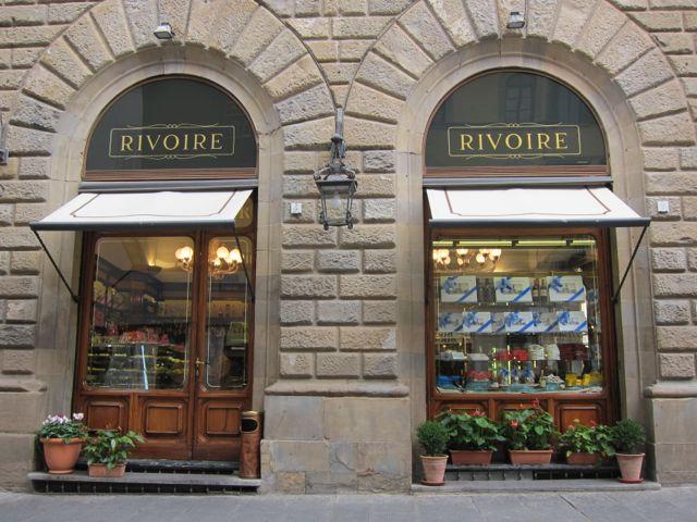 Cafe Rivoire, Florence www.ElizabethMinchilliInRome.com