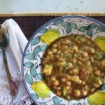 chickpea + zucchini {soup}