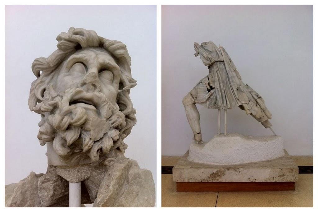 Head of Ulysses, Museo Archeologico di Sperlonga