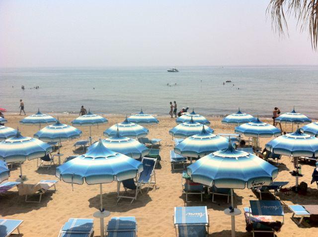 The Hotel Aurora beach, Sperlonga.