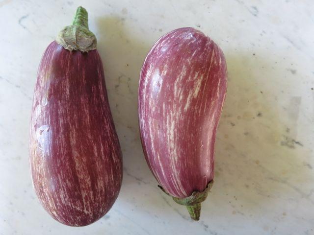 Eggplants www.ElizabethMinchilliInRome.com