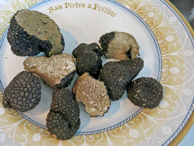 Truffles ready for cooking