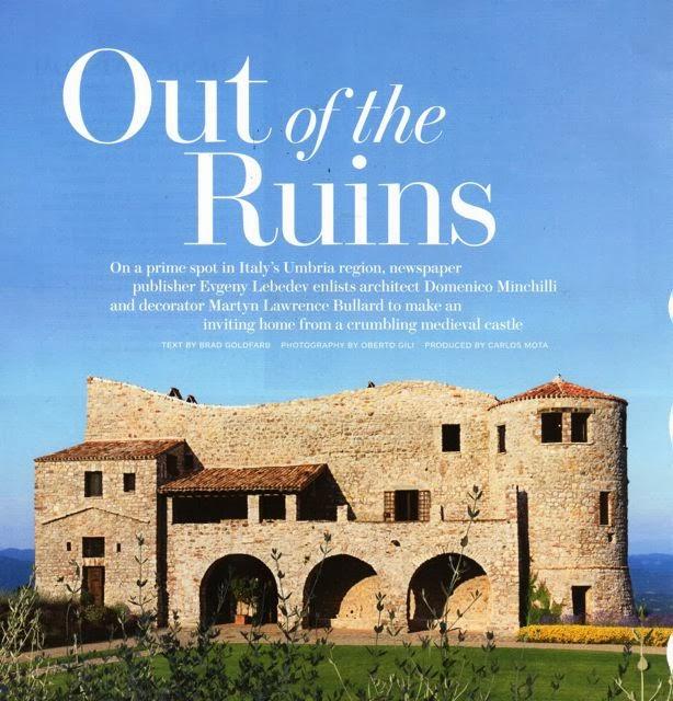 italian restoration {architectural digest}